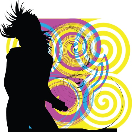 rocker girl: Chica baila
