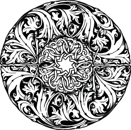 Renaissance seamless pattern Stock Vector - 10969138
