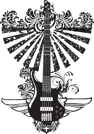 blues: Electric Guitar design