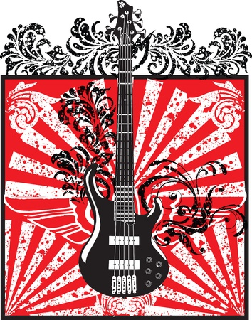 rock 'n ' roll: Electric Guitar design