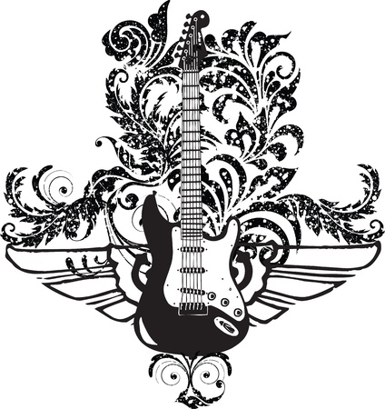 gitarre: E-Gitarren-Design