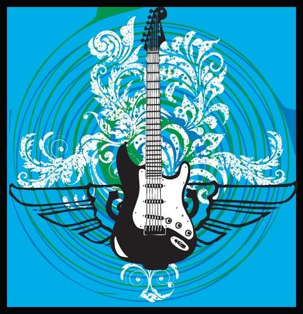 instrumental: Electric Guitar design