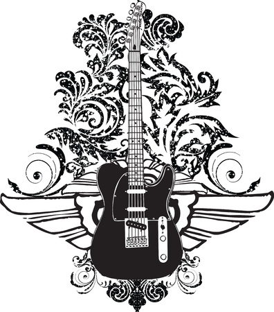 the bands: Electric Guitar design