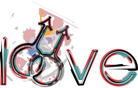 gay love: Gay love symbols