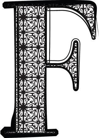 retro font: Fashion carattere