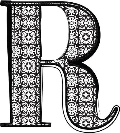 old fashion: Fashion font