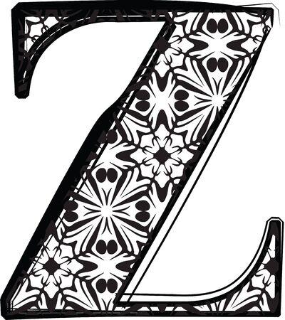 Fashion font Vector