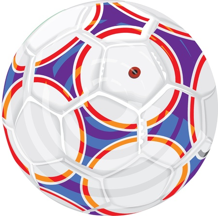 soccerball: Soccer ball illustration Illustration