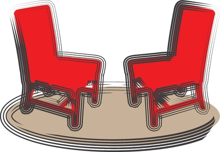 Chairs illustration Vector