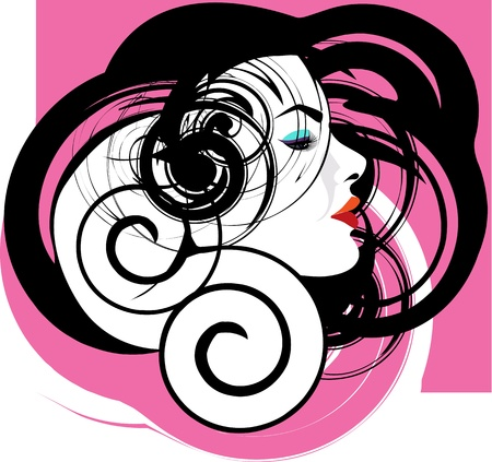 woman vector illustration Stock Vector - 10998781
