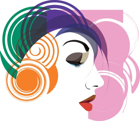 woman vector illustration Illustration