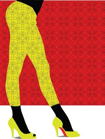Sexy pants illustration Stock Vector - 11000126