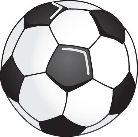 Soccer ball illustration Stock Vector - 10998975