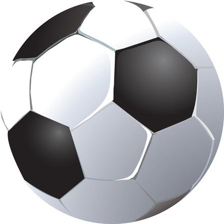 Soccer ball illustration Vector