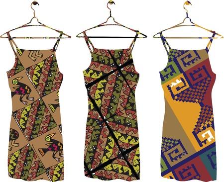 古代ドレス イラスト