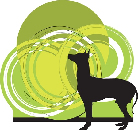 Dog, vector illustration Stock Vector - 10999027