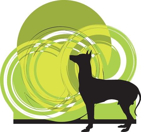 Dog, vector illustration Stock Vector - 10999027
