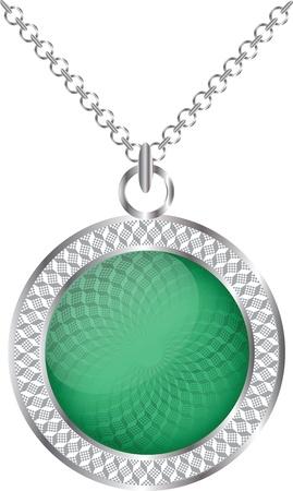 jade: Medallion illustration