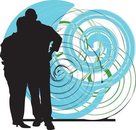 Couple illustration Vector