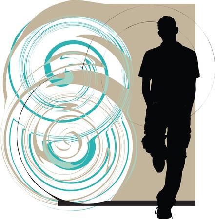 school teens: Adolescentes ilustraci�n