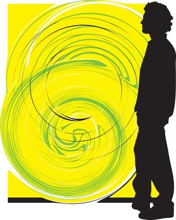Teenagers illustration Stock Vector - 11001025
