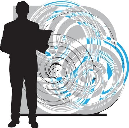 Businessman illustration Vector