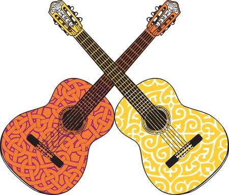 Guitar illustratie