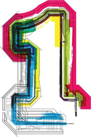 tipografia: Tipograf�a t�cnica Vectores
