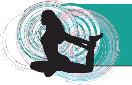 composure: Yoga illustration
