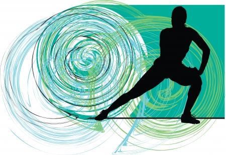 composure: Yoga illustrazione