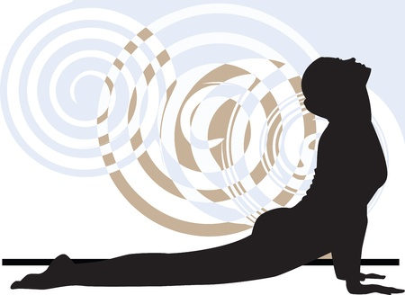 yoga meditation: Yoga illustrazione