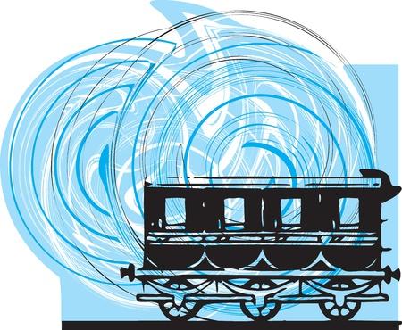 Train. Vector Vector