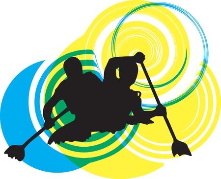 perseverar: Kayak en el r�o