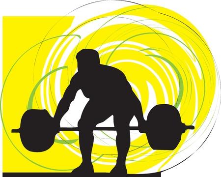 levantamiento de pesas: Constructor del cuerpo masculino