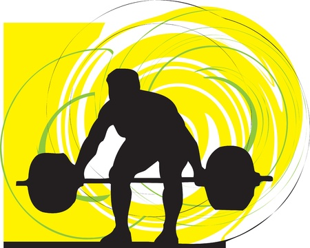 weightlifting: Male body builder