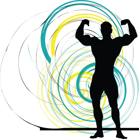 Bodybuilding Stock Vector - 11062605