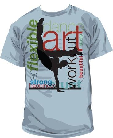 tshirt designs: tee illustration Illustration