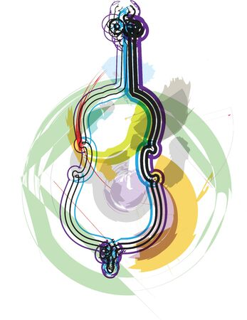 conductors: music instrument vector illustration