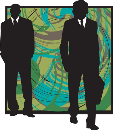 Businessmen illustration Vector