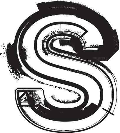 unclean: Grunge font