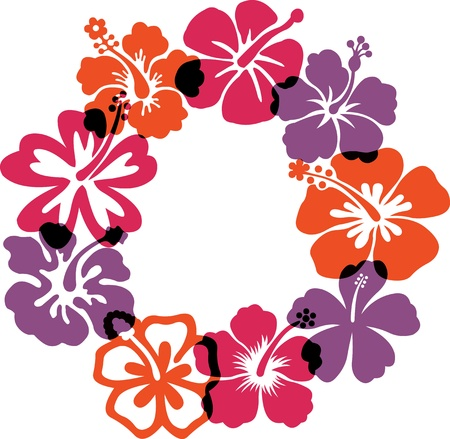 Résumé des illustrations des fleurs Illustration