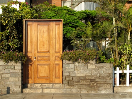 Entrance of a house Stock Photo - 11208344