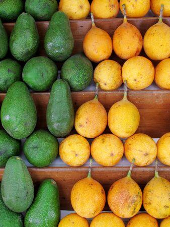 grenadilla: Fresh passion fruit & Avocado