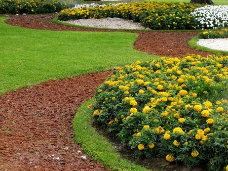 Beautiful park design photo