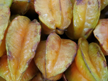 carambola fruit background photo