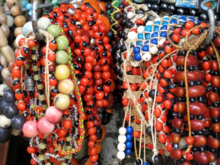 Ancient colorful Necklaces Stock Photo - 11172101