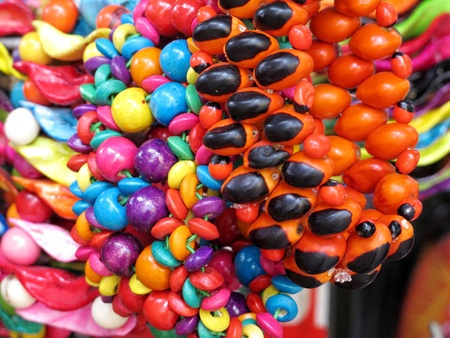 Ancient colorful Necklaces Stock Photo - 11172117