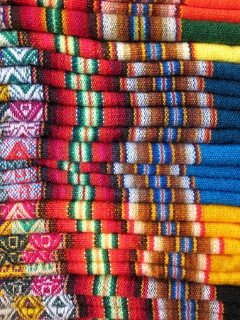 South America Indian woven fabrics Stock Photo - 11172051