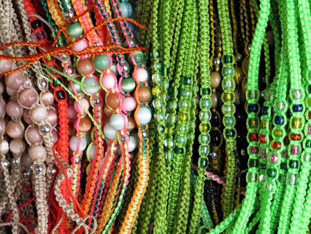 Ancient colorful Necklaces Stock Photo - 11172088