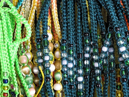Ancient colorful Necklaces Stock Photo - 11172084